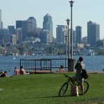 The view from Gasworks Park