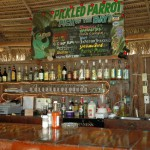 Have a drink at the parrot