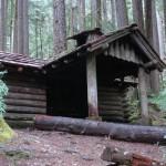 A cabin near Sol Duc falls