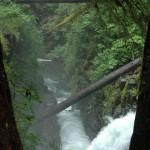 Bridge over the falls