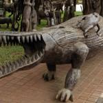 Big croc at the souvenir shop