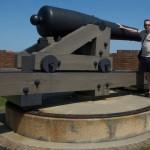 Me and a big gun