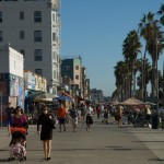 The boardwalk in Venice