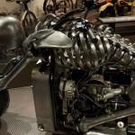Skeletal motorcycle