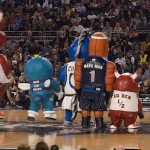 Inflatable mascots