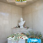 The masoleum of a former president