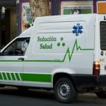 A small ambulance