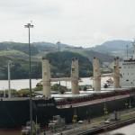 Turkish grain freighter