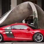 Car at Trump