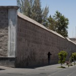 Monastery's external wall