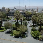 Plaza de Armas from the cathedral