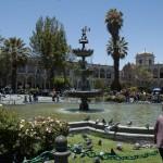Plaza de Armas center