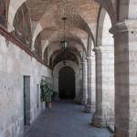 Unpainted cloisters