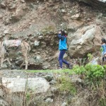 Locals on the Inca trail