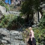 Kim climbs Santa Lucia