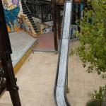 Slide at Reina Victoria