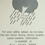 Stay out of the rain