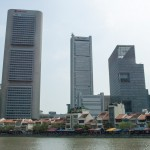 Boat Quay from the north